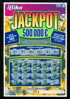 Grattage FDJ - FRANCAISE DES JEUX - JACKPOT 500 000 € - 56401 Double Carré - Billets De Loterie
