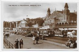 The Palace & Promenade , Douglas, I.O.M. - Valentine R 42 - Isle Of Man