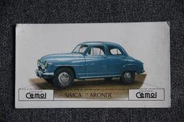 SIMCA ARONDE - Image Chocolat CEMOI - Coches