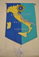 Rare Fanion Lion's Club Pescara Italie - Organisations