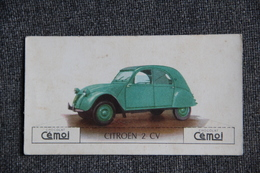 CITROEN 2 CV- Image Chocolat CEMOI - Voitures