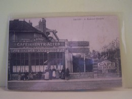 TROYES (AUBE) LES COMMERCES. CAFE DES ENTR-ACTES. 6 BOULEVARD GAMBETTA. - Troyes