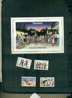 S.LUCIA TOURISME 4 VAL+ BF NEUFS A PARTIR DE 0.90 EUROS - St.Lucie (1979-...)