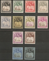 ASCENSION 1924 - 1933 SG 10/20 MOUNTED MINT Cat £350 - Ascension