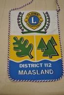 Rare Fanion Lion's Club Maasland - Organisations
