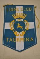 Rare Fanion Lion's Club Taormine - Organizations