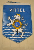Rare Fanion Lion's Club Vittel - Organisations