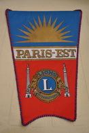 Rare Fanion Lion's Club Paris-Est - Organisations
