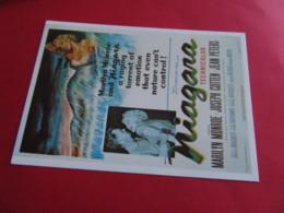 MARILYN MONROE Affiche Americaine  Film 1953  Niagara  EDIT Hazan N° Actrice Artiste Chanteuse - Entertainers