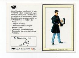 Petit Calendrier De Poche 1979 LA POSTE -  PTT Facteur De Ville - Non Plié - Calendriers