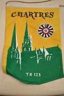 Rare Fanion Lion's Club Chartres - Organisations