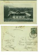 TELESE ( BENEVENTO ) GRANDI STABILIMENTI BALNEARI - VASCA S. LUCIA - 1915 (2851) - Benevento