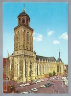 NL.- DEVENTER. Lebuines Kerk.  Old Cars. - Kerken En Kathedralen