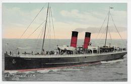"S.S, ""Tynwald"", I.O.M. - Valentine Souvenir 48127 - Isle Of Man"