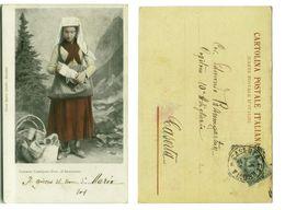 CASTELPOTE ( BENEVENTO ) COSTUME - EDIZ. JEVOLELLA - 1908 (2852) - Benevento