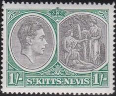 St Kitts And Nevis     .     SG   .    75b      .  *      .  Ongebruikt      .   /   .   Mint-hinged - St.Christopher-Nevis-Anguilla (...-1980)