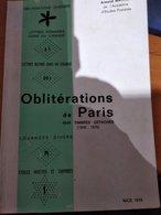 Oblitérations De Paris Sur Timbres Détachés (1849 - 1876) - France