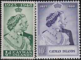 Cayman Islands   .     SG   .    129/130       .     *      .  Ongebruikt      .   /   .   Mint-hinged - Cayman Islands