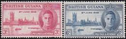 British Guiana   .     SG   .    320/321    .     *      .  Ongebruikt      .   /   .   Mint-hinged - Guyane Britannique (...-1966)