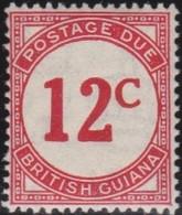 British  Guiana       .     SG   .    D 4a      .   *    .     Ongebruikt  .   /   .      Mint-hinged - Brits-Guiana (...-1966)