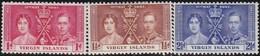 Virgin  Islands      .     SG   .    107/109       .       *      .   Ongebruikt     .   /   .   Mint-hinged - Iles Vièrges Britanniques
