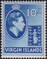 Virgin  Islands      .     SG   .    120        .       *      .   Ongebruikt     .   /   .   Mint-hinged - Iles Vièrges Britanniques