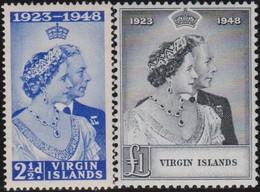 Virgin  Islands      .     SG   .   124/125        .       *      .   Ongebruikt     .   /   .   Mint-hinged - Iles Vièrges Britanniques