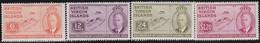 Virgin  Islands      .     SG   .   132/135       .       *      .   Ongebruikt     .   /   .   Mint-hinged - Iles Vièrges Britanniques