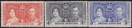 British  Honduras   .     SG   .    147/149        .   *      .   Ongebruikt     .   /   .   Mint-hinged - Honduras Britannique (...-1970)