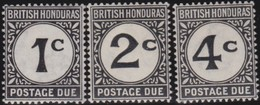 British  Honduras   .     SG   .    D 1/3      .   *      .   Ongebruikt     .   /   .   Mint-hinged - Brits-Honduras (...-1970)