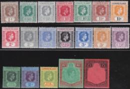 Leeward Islands    .     SG   .    95/114        .   *      .   Ongebruikt     .   /   .   Mint-hinged - Leeward  Islands