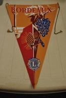 Rare Fanion Lion's Club Bordeaux - Organisations