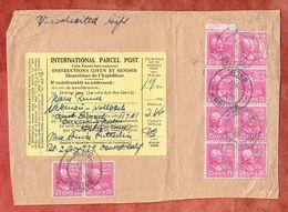 Paeckchenadresse, MeF McKinley, California Nach Loerrach 1947 (68567) - Covers & Documents
