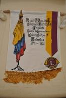 Rare Fanion Lion's Club Colombie 1971-1972 - Organisations