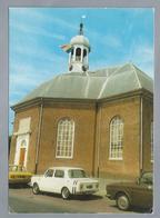 NL.- 's-GRAVENZANDE. Ned. Herv. Kerk. Old Car - Kerken En Kathedralen