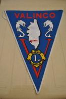 Rare Fanion Lion's Club Valinco Corse - Organisations
