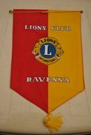 Rare Fanion Lion's Club Ravenna - Organisations