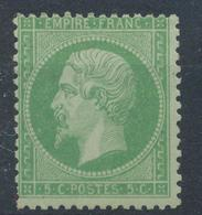 N°20 NEUF*TIMBRE SIGNE - 1862 Napoleone III