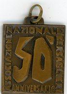 °°° Medaglia - Associazione Nazionale Bersaglieri 50° Anniversario 1924/1974 °°° - Italia