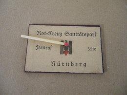 Miroir Allemand Seconde Guerre ( Croix Rouge Nuremberg ) - Equipment