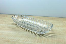 TRES JOLIE COUPE DE FRUIT EN CRISTAL DE LORRAINE - CENTRE DE TABLE - L: 25cm - Glass & Crystal