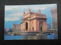 INDIA - Bombay Mumbai Illumination At Gate Way Of India Taj Mahal Hotel - India