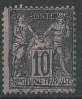 Lot N°45947  N°103, Oblit Cachet à Date A Déchiffrer - 1876-1898 Sage (Type II)