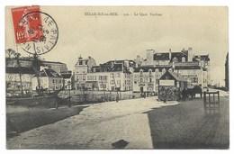 56-BELLE-ILE-EN-MER-Le Quai Vauban...  1909  Animé - Belle Ile En Mer
