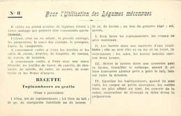 -ref-A982- Recettes - Federation Française De L Enseignement Menager - N°8 - Legumes Meconnus - Ecole - Ecoles - - Recettes (cuisine)