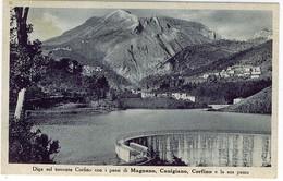 LUCCA GARFAGNANA DIGA SUL TORRENTE CORFINO PAESI MAGNANO CANIGIANO CORFINO - Lucca