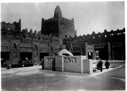 (86)  Photo Originale Paris Expositions Coloniale 1931 L' Afrique Occidentale    16.5X12cm   (Bon état) - Mostre
