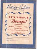 PROTEGE CAHIER ANCIEN.LES TISSUS BONIJOL NIMES - Book Covers