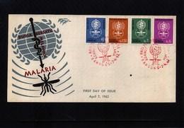 Indonesia 1962 Fight Against Malaria FDC - Krankheiten