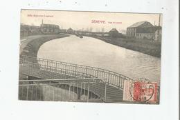SENEFFE VUE DU CANAL 1912 - Seneffe